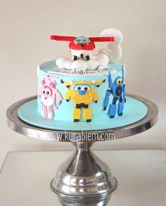 Super wings cake , harika kanatlar pastası , birthday cake