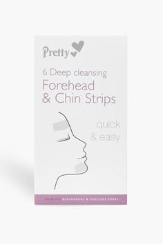 Womens 6 Forehead And Chin Nose Pore Strips - white - One Size Underarm Hair Removal, Hair Removal Cream, Pastel Nail Polish, Pastel Nails, Unwanted Hair, Unwanted Facial, Nose Pores, Get Rid Of Warts, Glitter