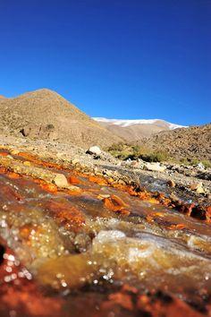 Río Amarillo (Sierras de Famatina) Provincia de La Rioja