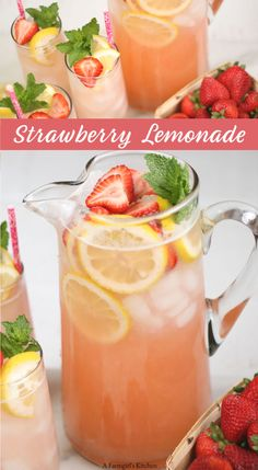 Strawberry Lemonade Homemade Strawberry Lemonade is simple to make using everyday ingredients. Strawberry Lemonade Homemade Strawberry Lemonade is simple to make using everyday ingredients. Easy Strawberry Lemonade Recipe, Strawberry Drinks, Homemade Lemonade Recipes, Strawberry Summer, Homeade Lemonade, Fresh Lemonade Recipe, Strawberry Detox Water, Strawberry Limeade, Fresh Squeezed Lemonade