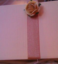 Paper rose detail