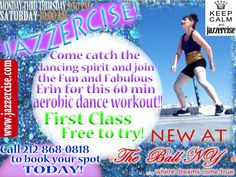 New at The Ball NY Dance Studio! #dance #class #jazzercise