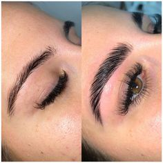 If that isn't a transformation, I don't know what is👌🏠Eyebrow Lift, Eyebrow Makeup Tips, Eye Makeup, Makeup Geek, Thick Eyebrow Shapes, Thick Brows, Bold Brows, Mircoblading Eyebrows, Natural Eyebrows