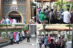 Ziarah ke makam Presiden RI ke-5 Abdurrahman Wahid (Gusdur) di Jombang