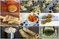 Ideias baratas e saudáveis de comidas para bebês de um ano