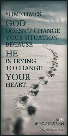 Be patient, have faith