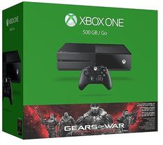 awesome BRAND NEW Xbox One Gears of War Ultimate 500gb Console + Grand Theft Auto V 5 - For Sale