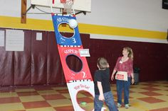 Basketball Toss - Prize every time. Box Tops Spring Carnival 2013  Welch Elementary -Welch, WV  ~ We purchased our Basketball hanger with our Labels for Education points!!  Photo Credit: Lisa Short