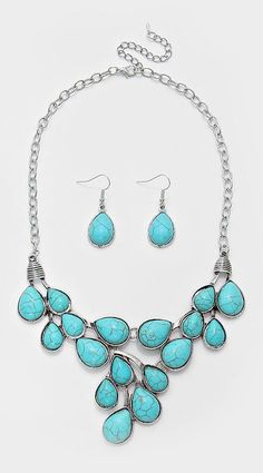 Maya Necklace in Turquoise #mywatergallery