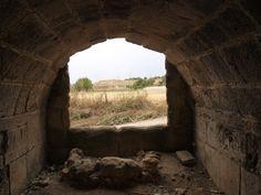 Desde el interior de la cisterna