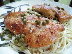 Recipe from Plain Chicken: Chicken Piccata