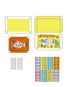 Miniature Printables - Operation Game - Mobile Photobucket