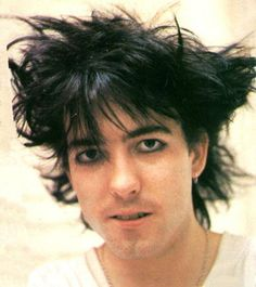 A very young Robert Smith, The Cure