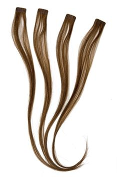 Caramel tape in hair extensions Get a gorgeous highlighted look in a matter of seconds!  • Set of four highlight extensions. • Made with high quality 100% Remy human hair, care for it the same way as you would your own hair. •Cut and style to your perfect length. • Instant - Apply in seconds! • Stays in for up to four weeks! •Reuse over and over again. More information at www.facebook.com/bouniqueaz $36.00