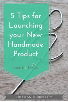 If you are anything like me, the fast approach of the New Year has your creative brain buzzing with ideas for new products. Ideas development, product planning, and market research are all very important – but there are a few more things to think about for a new product launch in order to give it it's best chances of success.  #etsy #etsybusiness #etsyshop #handmade Etsy Business, Craft Business, Creative Business, Selling Handmade Items, Handmade Market, Selling Crafts, Handmade Products, Business Planning, Business Tips