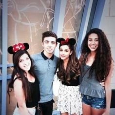 #Nariana with two fans