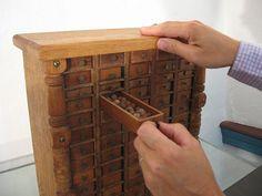 ...specimen cabinet