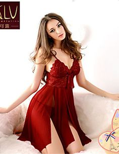 Hot Sale Babydoll Dresses Nightwear With G-string. High Quality Sexy Lingerie Women's Underwear Babydoll Sleepwear Lace Dress G-string Nightwear. This lingerie Sexy Lingerie, Lingerie Rosa, Babydoll Lingerie, Beautiful Lingerie, Babydoll Dress, Lingerie Sleepwear, Nightwear, Lingerie Sets, Luxury Underwear