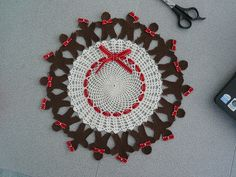 Gingerbread People Doily