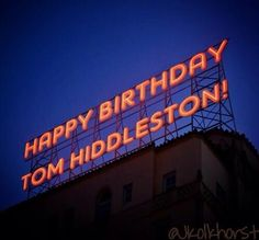 """""""I must shout it to the world! On top of some place very high!"""" Happy Birthday Tommy!"""