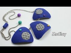 Bubble texture necklace - how to get those bubbles.  #Polymer #Clay #Tutorials