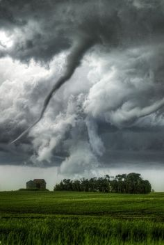 Terrifying and beautiful. Tornado | by Robert Edmonds.