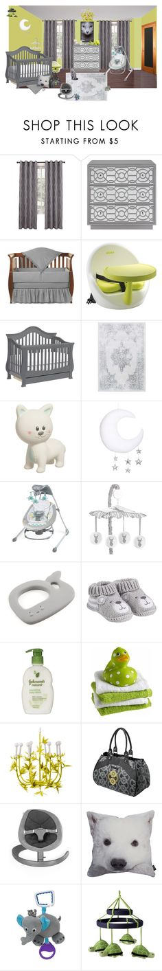 """Sterling"" by sterlingkitten on Polyvore featuring interior, interiors, interior design, home, home decor, interior decorating, American Baby Company, Beaba, Johnson's Baby and Gap"