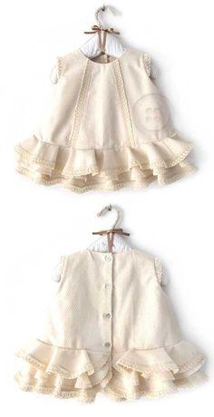 HOW TO MAKE A BABY FLAMENCO DRESS - DIY