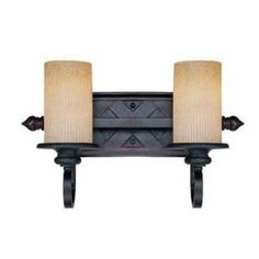 Check out the Savoy House 8-224-2-25 Carmel 2 Light Bathroom Bar Fixture in Slate