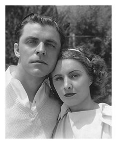 Barbara Stanwyck and Lyle Talbot in A Lost Lady (1934)