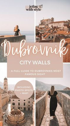 Visit Dubrovnik's City Walls and make the most out of your experience with this guide. It'll take you through everything you need to know prior and during your visit. In addition, I added my favorite photo spots for you to recreate and get inspired. All of this is linked on an interactive map you can save for your convenience :) Enjoy your trip! Dubrovnik/Dubrovnik City Walls/Croatia/Kroatien/Stadtmauern/Dubrovnik Attractions/Dubrovnik Sights/Instagram Spots Dubrovnik/Photo Spots/Travel Croatia
