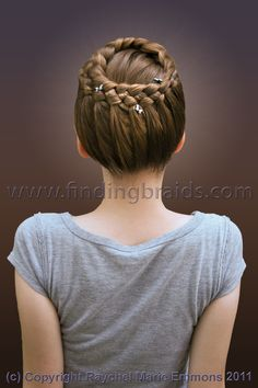 Five-strand french lace braid.