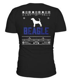 Best Merry Christmas BEAGLE back Shirt Pocket Beagle, Merry Christmas, One Piece, Mens Tops, T Shirt, Stuff To Buy, Printable, Simple, Color
