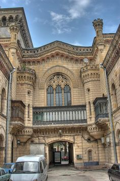 Philharmonic Hall, Odessa, Ukraine.