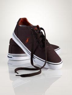 Hanford Canvas Sneaker - Polo Ralph Lauren Sneakers - RalphLauren.com 30507198bac29