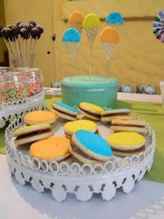 Mesa de dulces temática.