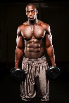 Fellas, make sure you pick up the heavy weights too! Your body can handle it!   MuscleUp Bodybuilding. ~ mikE™