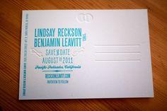 Oh So Beautiful Paper: Lindsay + Ben's Modern Venn Diagram Wedding Invitations