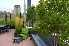Co-op and Condo Roof Garden New York City