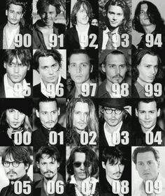 Evolution of Johnny Depp
