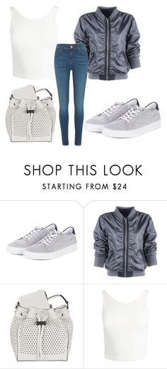 """""""Untitled #4094"""" by evalentina92 ❤ liked on Polyvore featuring Barbour, rag & bone, Sans Souci and River Island"""