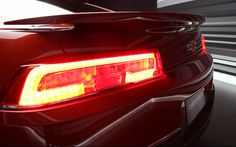 2014 Camaro redesigned tail lights.