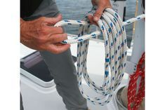 How to coil a halyard step 3