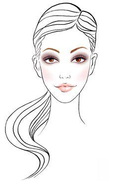 Fall 2013 Makeup Chart for Celebrity Make-up Artist Elizabeth Ulloa - Sunny Gu.