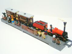 Moc) Train 1830 - LEGO Train Tech - Eurobricks Forums