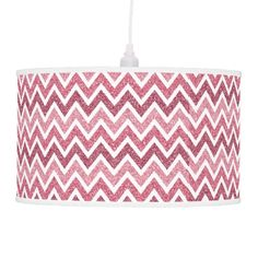 glitter chevron pattern lamp #tableLamp #lamp #pendantLamp