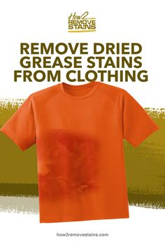 Once you discover dried grease stains on your clothes, they can be unappealing to look at especially if they have set. Despite preventive measures, you might overlook Dry Cleaning At Home, Dry Cleaning Services, Cleaning Kit, Grease Stains, Remove Stains, Stain On Clothes, Old Towels, Cleaners Homemade, Laundry Detergent