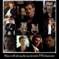 Because Klaus is just awesome,