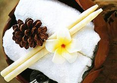 Ear candles improves lymphatic fluid flow through the body, improved colour perception, a more balanced emotional state and clearer thinking