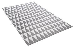 HARLEKIN-matto 160 X 230 cm Harmaa-valkoinen
